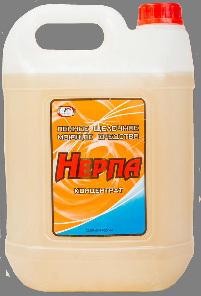 «Нерпа»  Щелочное пенное моющее средство, с антибактериальным эффектом (концентрат)