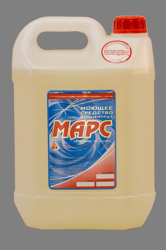 «МАРС» Щелочное малопенное моющее средство с антибактериальным эффектом (концентрат)