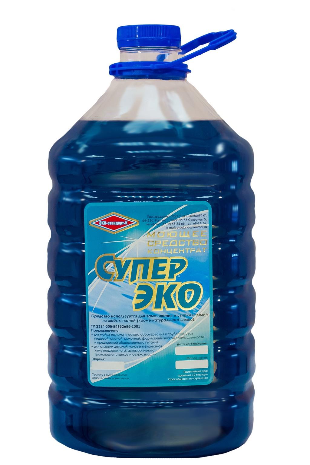 «Супер Эко» Моющее средство жидкое (концентрат)