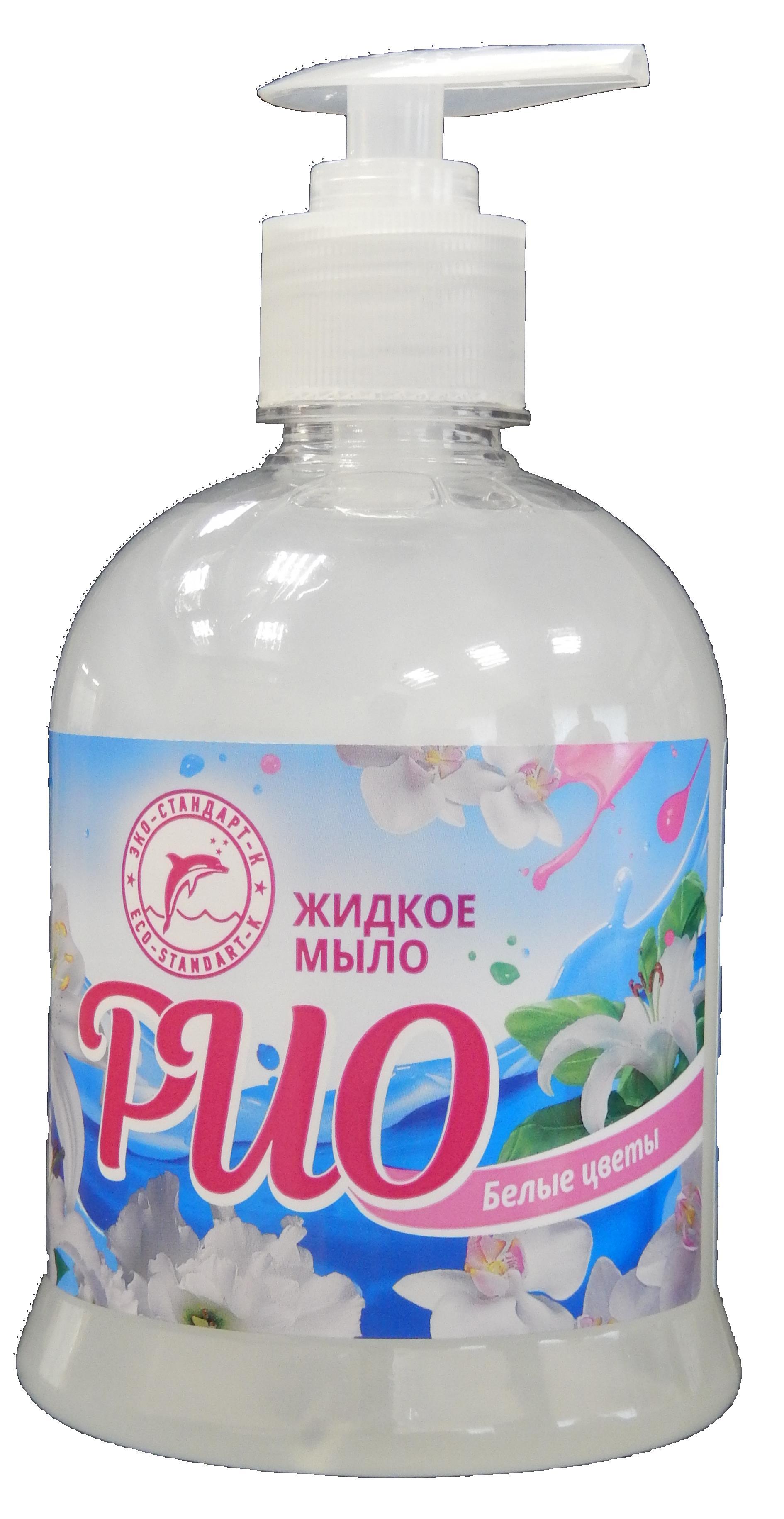 """Жидкое мыло """"РиО Белые цветы"""""""
