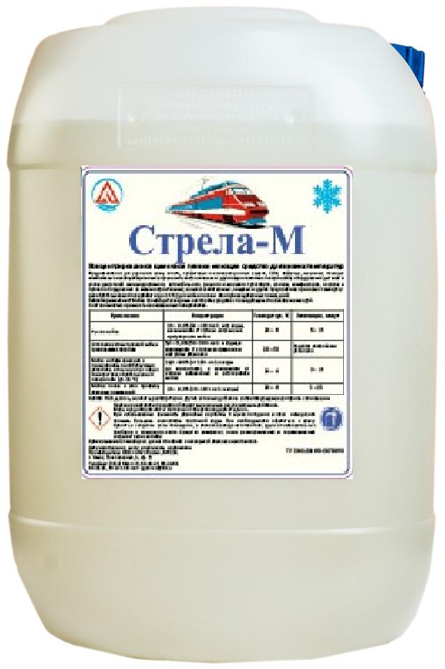 Щелочное пенное моющее средство для низких температур «СТРЕЛА-М» (концентрат)