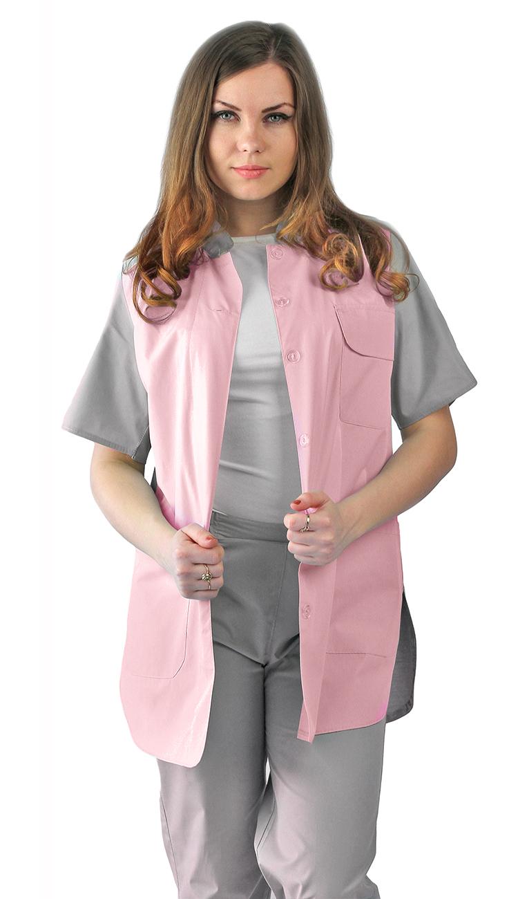 Комплект женский«Октава»,серый с розовым, 1050,00 руб./шт.